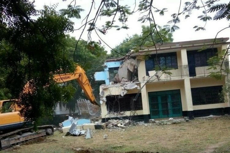 Kenyan Family in the US Appeals to President Uhuru Kenyatta after Mombasa County Gov't Demolishes their Home