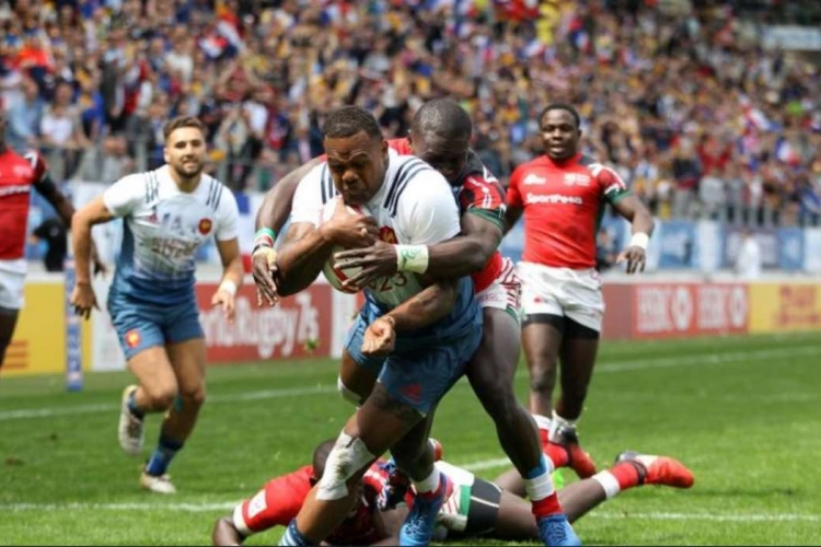 Kenya Loses to France in Pool A Opening Match at the USA Sevens Rugby