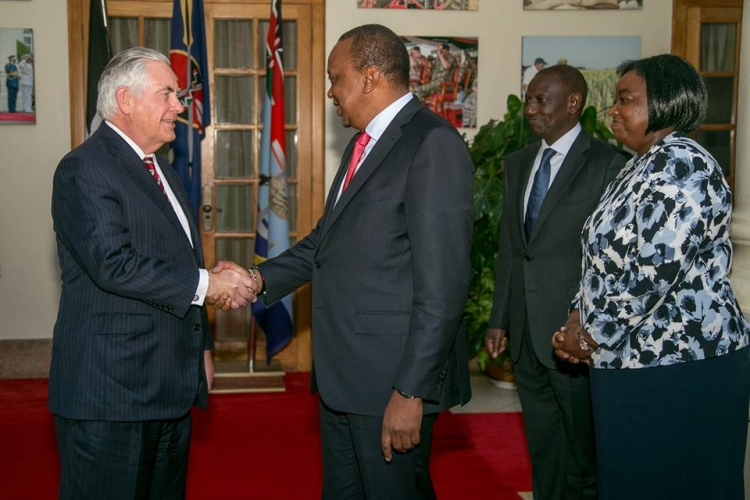 US President Trump Sacked Rex Tillerson While the Secretary of State Was in Kenya