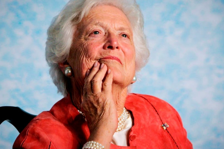 Former US First Lady Barbara Bush Dies