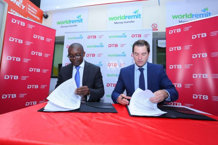 Kenyans in Diaspora to Send Cash Instantly in New DTB-WorldRemit Deal