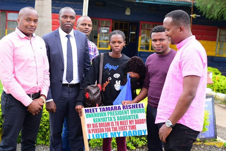Girl Claiming to Be President Uhuru's Daughter Opens Up on Her 'Relationship' with Him