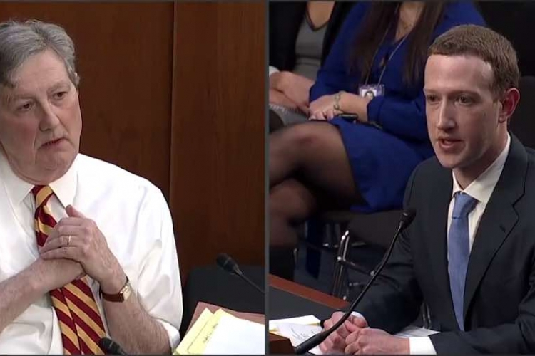 "US Senator John Kennedy under Fire for ""Swahili"" Reference at Facebook CEO Mark Zuckerberg's Senate Hearing [VIDEO]"