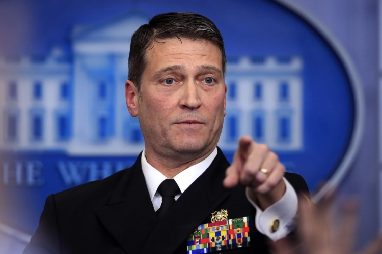 """Candy Man"": Nickname Given to Ronny Jackson, Trump Nominee for VA Secretary for Freely Dishing Out Prescription Drugs Like Candy"