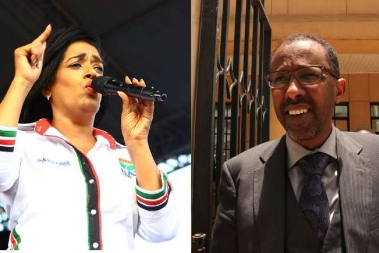 Nairobi Woman Rep. Esther Passaris Embroiled in a Nasty Twitter Spat with City Lawyer Ahmednasir 'Grand Mullah'