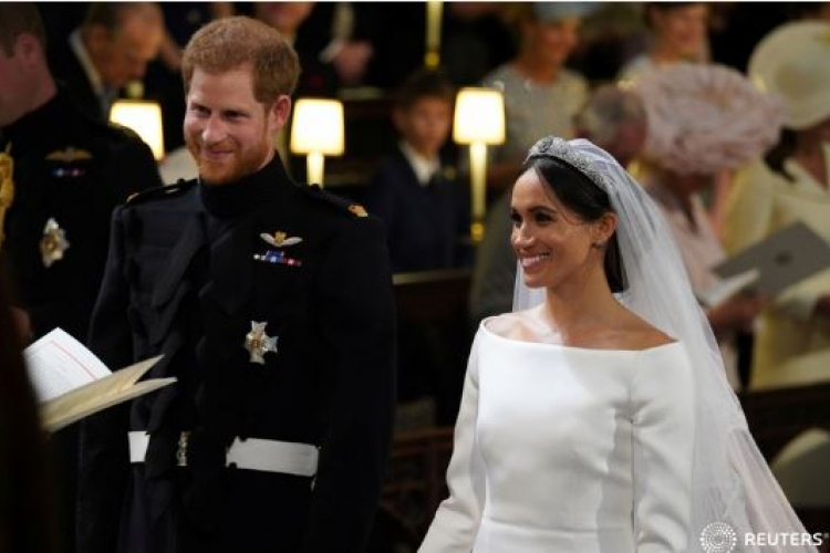 American Actress Meghan Markle Now the Duchess of Sussex as She Finally Marries Britain's Prince Harry