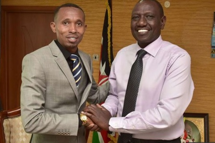 Nyali MP 'Moha Jicho Pevu' Meets Deputy President William Ruto, But Kenyans Are Unimpressed
