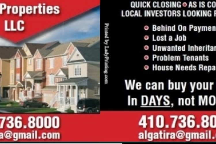 AWG Properties, LLC Buys Houses in Any Condition in the Baltimore Area