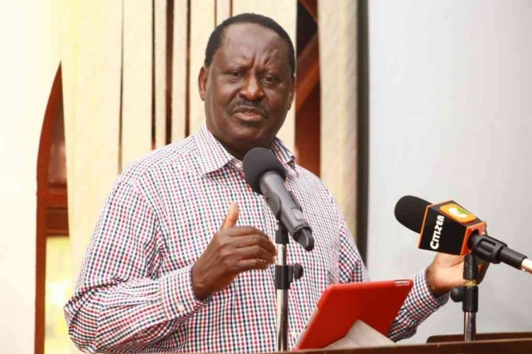 I'm Ready for Lifestyle Audit, Raila Declares