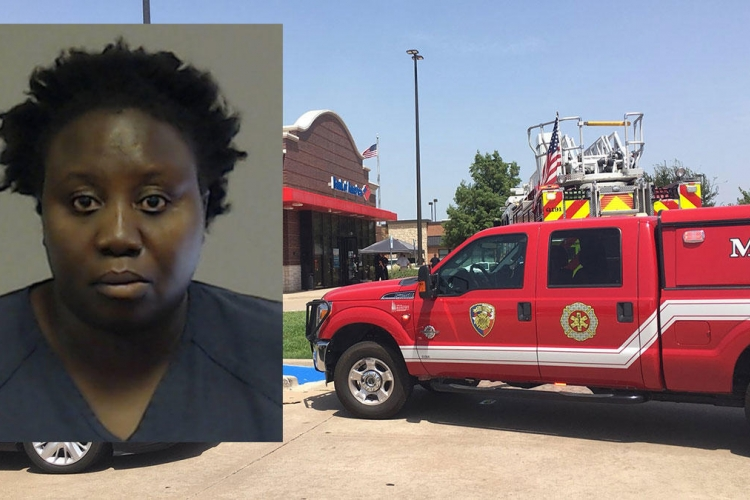 Kenyan Woman Tries to Rob a Bank in Texas [VIDEO]