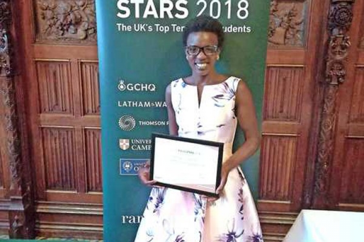 Kenyan Student Gladys Chepkirui Earns Special Recognition in the UK