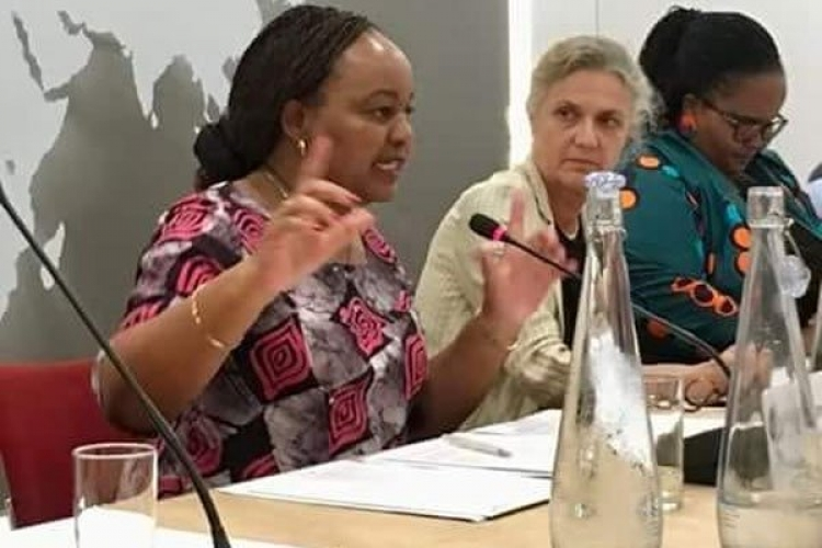 Kirinyaga Governor Anne Waiguru Delivers Talk at Chatham House in London