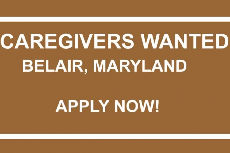 Jobs: Caregivers Wanted at an Assisted Living Facility in Bel Air, Maryland