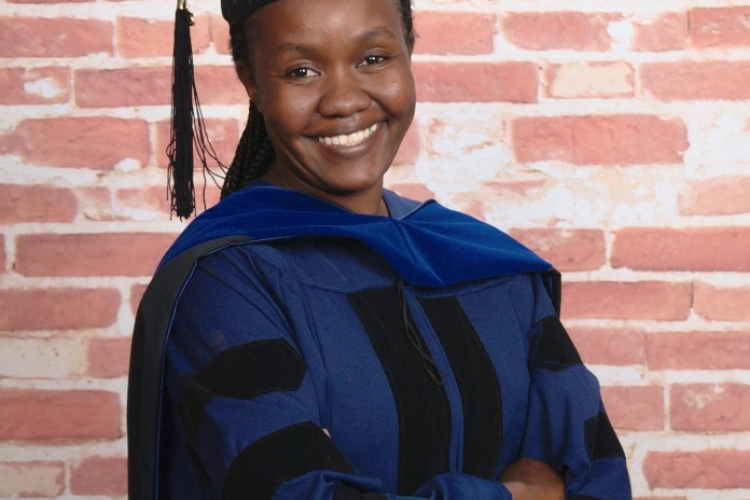 Meet Kenyan-Born Fridah Mokaya, the First Black Lady to Graduate with PhD in Nuclear Physics from University of Connecticut, US