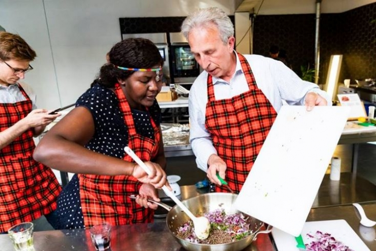 Meet Caroline Murigi, a Kenyan Woman Who's Teaching People How to Prepare Kenyan Dishes in the Netherlands