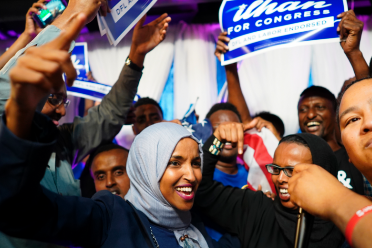 Ilhan Omar Poised to Become the First Somali-American and First Muslim-American Woman in the US Congress