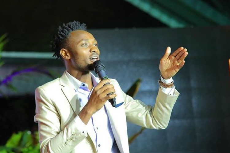 Finding Life in the US Unbearable, Comedian 'David the Student' Returns to Kenya