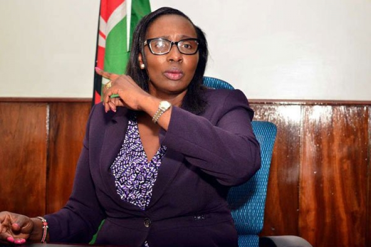 Drama at City Hall as Nairobi MCAs Attempt to Forcefully Evict Impeached Speaker Beatrice Elachi from Her office
