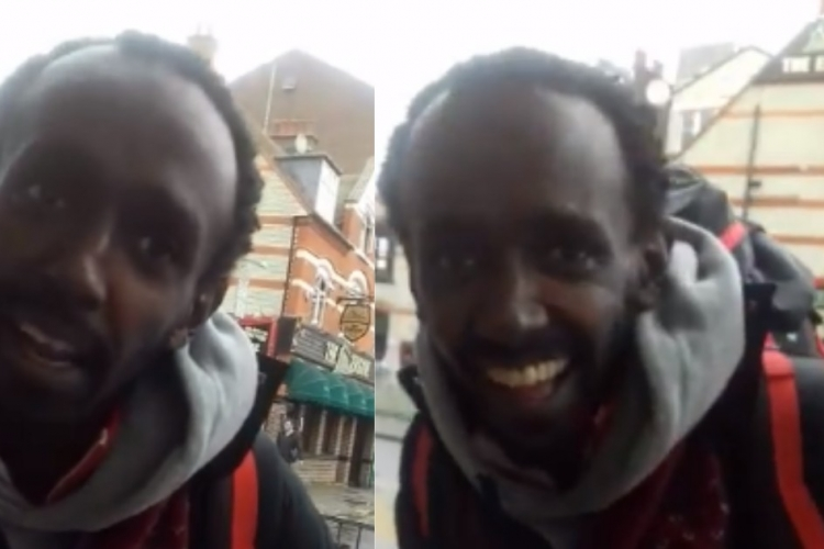 Homeless Kenyan in the UK Appeals for Help to Return Home [VIDEO]