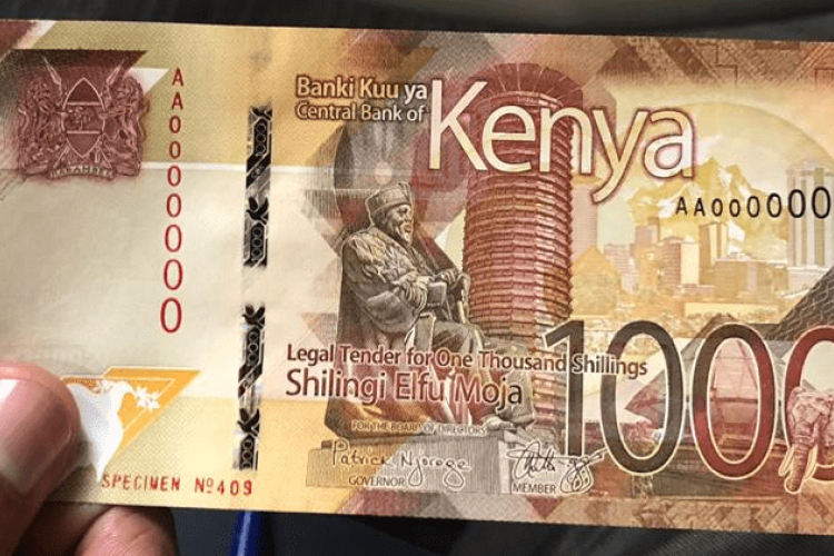 Kenyans in Diaspora Must Travel Back Home to Exchange Old Sh1,000 Notes, Central Bank Says