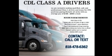 CDL Drivers Wanted: $1,500 - $2,000 Average Weekly Pay