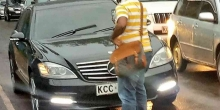 Brave Man Wins Kenyans' Hearts after Blocking MP's Car from Being Driven on the Wrong Side [VIDEO]