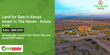 Plots for Sale: The Haven - Konza