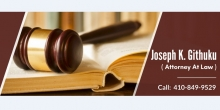 Need a Lawyer? Contact Joseph K. Githuku