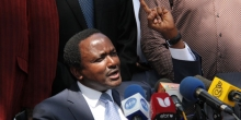 Kalonzo Rejects Calls to Take Opposition Leader's Position from Raila
