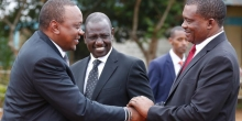 Ruto Downplays Uhuru's 'Loitering' Remarks, Says Trips for Launching Projects