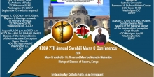 KCCA 7th Annual Mass & Conference: August 10th - 12th in Washington, DC