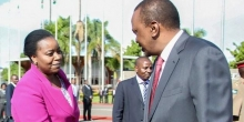 Foreign Affairs CS Monica Juma Defends President Uhuru's Frequent Foreign Trips